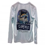 Tuppen's Brand Performance Tee Shirts - Long Sleeve - Blue