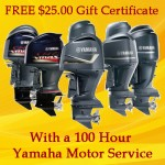Tuppen's Marine 100 Hour Yamaha Motor Service Special