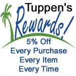 Tuppen's Marine Rewards Program